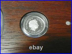 The 2000 Mini Outback 3 Coin Set Collection (silver, Gold, Platinum)
