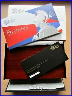 The Britannia 2015 Collection 3 coin gold proof set all NGC PF 70 graded