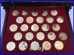 The Masterpieces of Rubens Medals Collection, 100pc 24k Gold Electroplated Coins