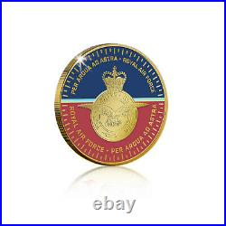 The RAF Collection Gold Coin Medal Spitfire 80th Anniversary Luxe Edition