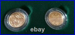 The Sovereign Mintmark Collection 7 Full Sovereign Set By Royal Mint With Coa