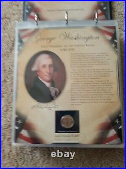 The United States Us Presidents $1 Coin Collection Complete Set For Volume I
