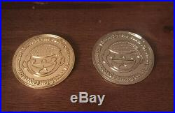 Tiny Ghost Bimtoy Bimcoin GOLD AND SILVER Coins Redeemable for 2019 Exclusives