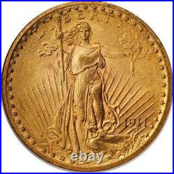 US Gold St. Gauden Double Eagle $20 (Cleaned/Jewelry Grade)