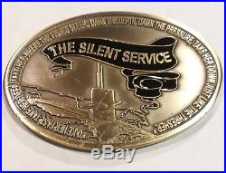 U. S. Navy Submarine Warfare Challenge Coin Bubblehead Gold Dolphins USN (Lot)