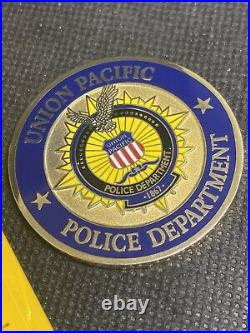Union Pacific Police Department Train Railroad Special Agent UPPD Challenge Coin
