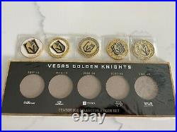 Vegas golden knights coin collection