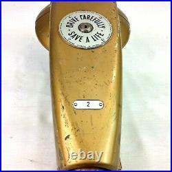 Vintage DUNCAN Parking Meter Gold 5 & 10 Cent Coin Slots Chicago IL USA Works