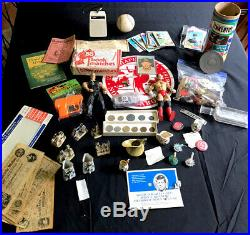 Vintage Junk Drawer Lot 14k Solid Gold Coin 925 Pin Auto Cards Transistor