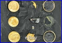 Wwii Ww2 Pilot Gold Coin Ring Escape Evasion Kit Sealed And Xrayed Complete